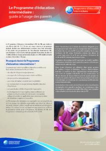 Guide programme intermédiaire IB