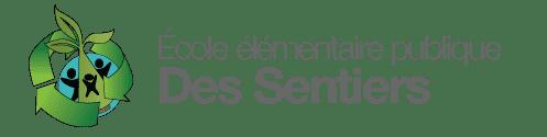 Logo de l'École élémentaire publique Des Sentiers