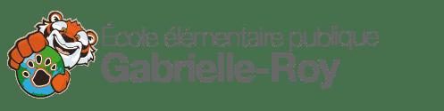 Logo de l'École élémentaire publique Gabrielle-Roy