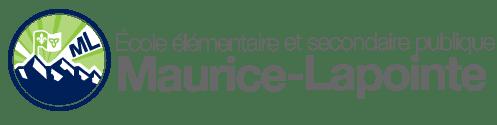 Logo de l'École élémentaire et secondaire publique Maurice-Lapointe
