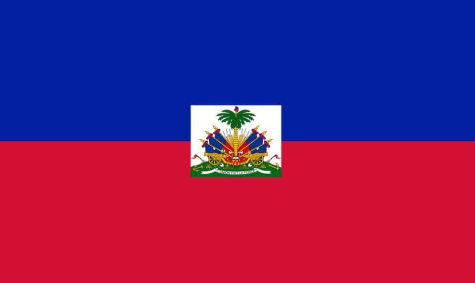 Drapeau de l'Haiti