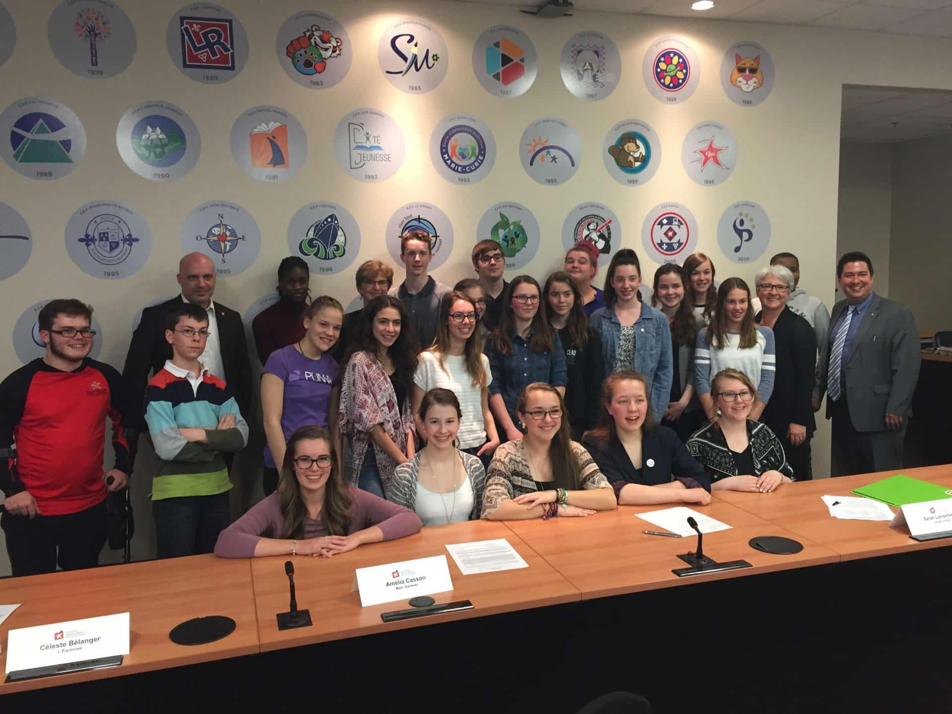 Sénat des élèves 2016-2017