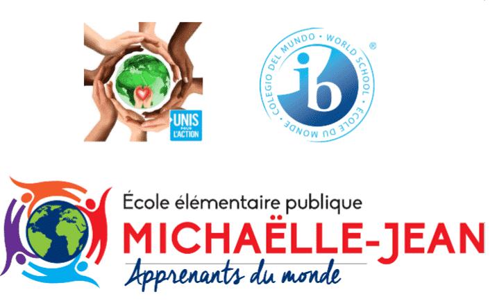 Logo exposition IB de l'école Michaelle Jean