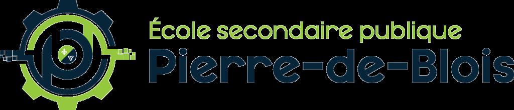 Logo école secondaire publique Pierre-de-Blois