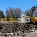 Excavateur construction